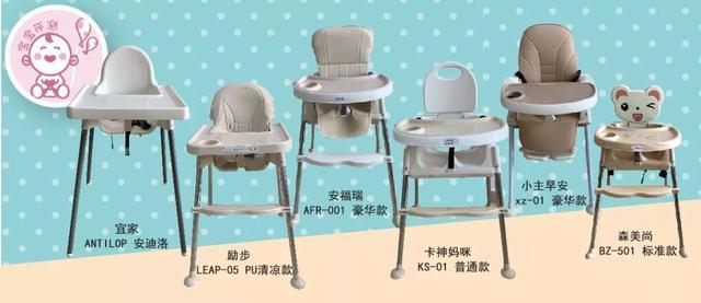 22款宝宝餐椅测评(上篇):这些低价销量之王,哪款更值得买?