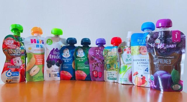 10款宝宝果泥评测下:含糖量、维生素C、钠含量结果出人意料