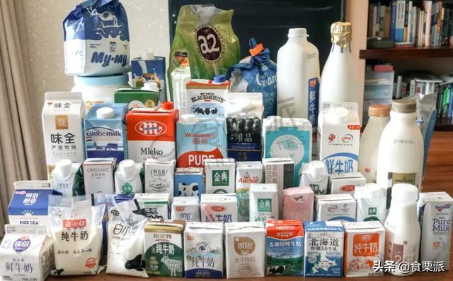 在分析了223种牛奶后,我们推荐这些类型的牛奶用于下一部分的评估